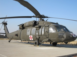 "UH-60 ""Black Hawk"" in der MedEvac-Variante."